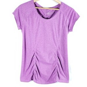 Zella Ruched Workout Tee
